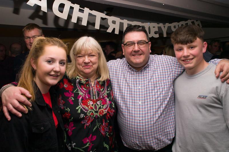 Alan's 50th Birthday Party, Kings Head Cubbington