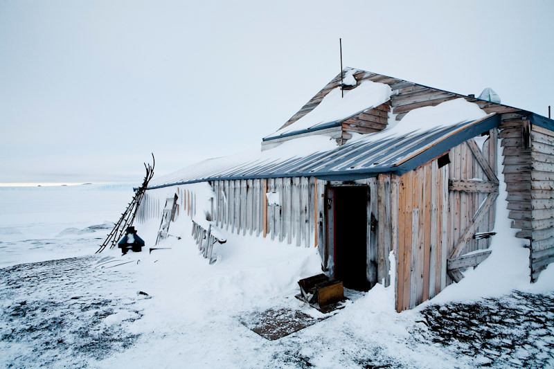 Admundsen Scott Hut at Cape Evans.