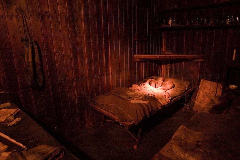 Scott's bed.