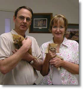 Spaghetti and Macaroni adopted,  5-19-04<br /> And, yes these two precious little girls are renamed.