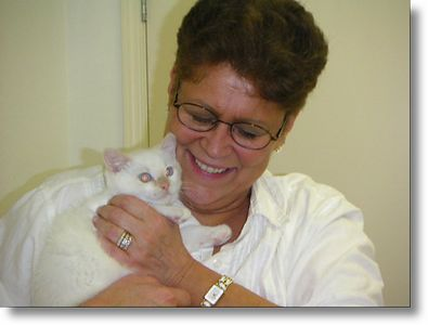 Buffy got adopted,  7-29-04<br /> Barb says this little one is full of it.  A joy to have.