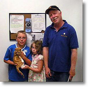Willie adopted 8/1/04<br /> This little guy with his brother Waylon are full of energy.  They're going to delight their new home.