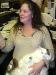 Lady Godiva found a Mom that knows how to make her comfortable, adopted 12-17-04.