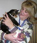 Stella charmed her new mom, 12/3/04.