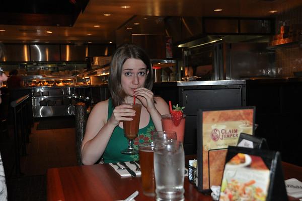 Alexa's Graduation Dinner