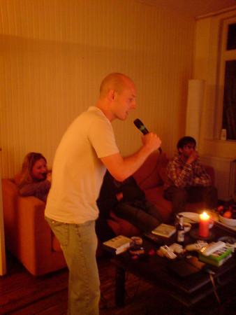 Alex's Singstar party