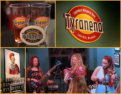 Whiskey Belles entertaining at Tyranena Brewery, Lake Mills