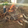 Cleanup time, recent rains make it possible to get burning permit. So burn baby, burn.<br /> January 29, 2010