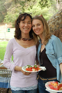 Tracy (Wong) McGrath & Nina (Moye) McCarney