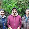 Amir's cousin Thabit, Amir.  And Amir's housemate in Missouri, Mubarak.  Thabit will leave Karen's house in Seattle soon to go to UofA in Flagstaff