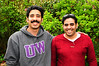 Amir and his cousin Thabit, who will take English classes at SPU.