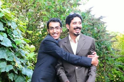 Amir & Hussain visit   August 2014