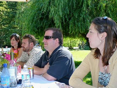 Kristin, Colin, Jeremy, Lisa