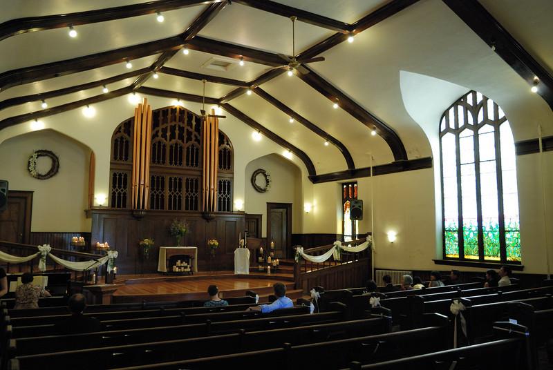 Saint Patrick Presbyterian Church near downtown Greeley, CO.