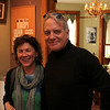 Joyce Hartley and Craig Vespe - all smiles for another photographer.