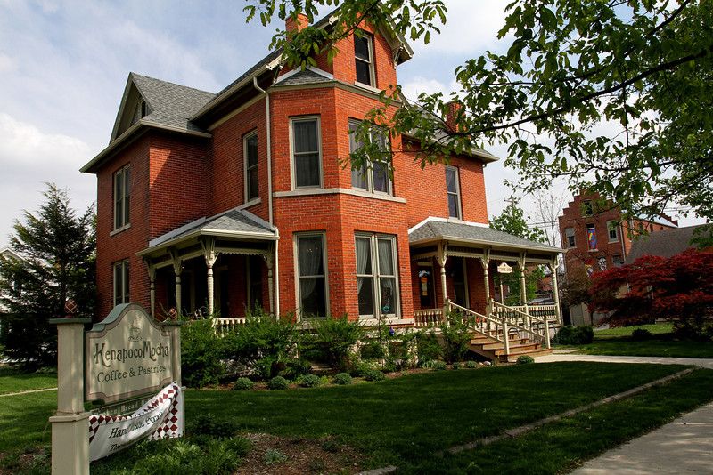 At the corner of 2nd and Market is the lovely KenapocoMocha Home - a world away from the ordinary.