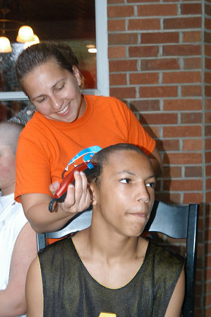 Andrew Ganung Head Shaving Party