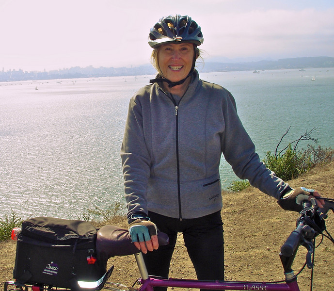 President Cathy on Angel Island