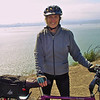President Cathy on Angel Island