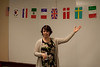 Anna participating in Toastmasters Humorous Speech Contest