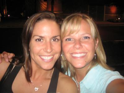 Anna's reunion with Christina del Castillo 7/06
