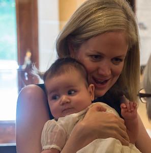 Anne Claire Baptism
