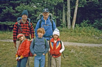 Appalachian Trail HIke -1982