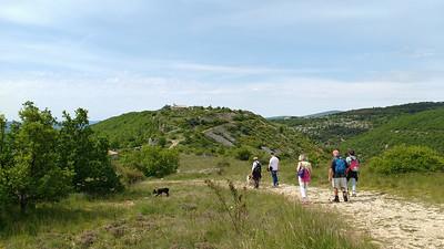 Vieux Montsalier walk 25 May 2016