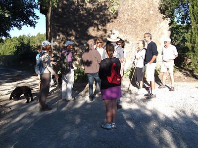 Cabrieres d'Avignon promenade 03Sep14