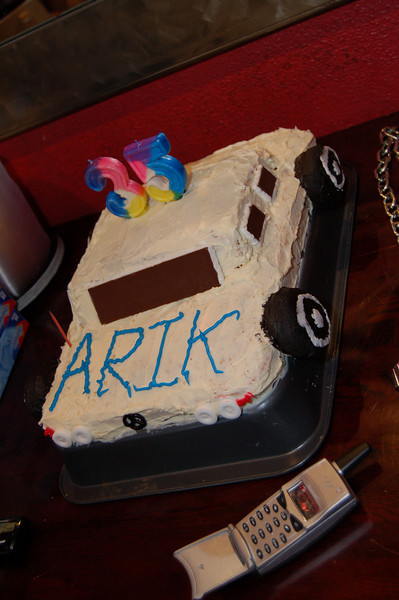 Arik's 35th bday