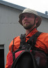 Cameron, a  Monterey Bay kayaking guide, August, 2011