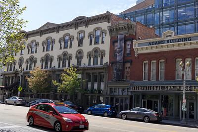 Eclectic Washington DC architecture.