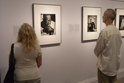 Wonderful portraits of jazz musicians.