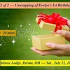 Video: 20 mins ~~ Part 2 - Gift Unwrapping