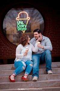 Kate Thompkins Engagement Photos Nate Olsen