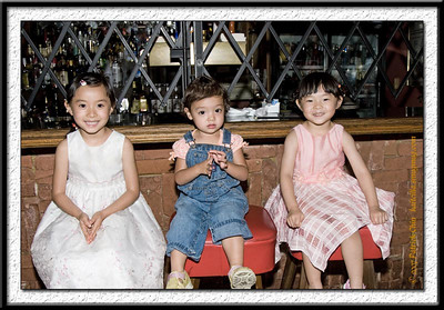 3 little princesses; Kaitlyn, Jeanne and Priscilla.