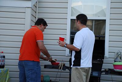 El BBQ Martinez... pero cocinaron Lopez y Cantillo...