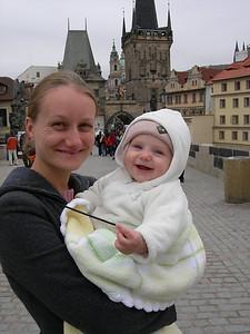 Dana and baby Charlotte