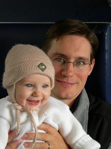 John and baby Charlotte