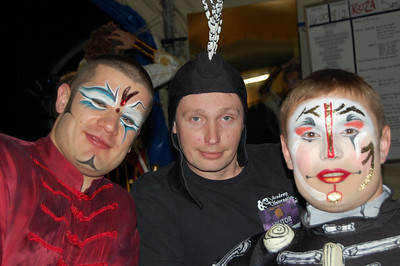 Back Stage with Cirque du Soleil