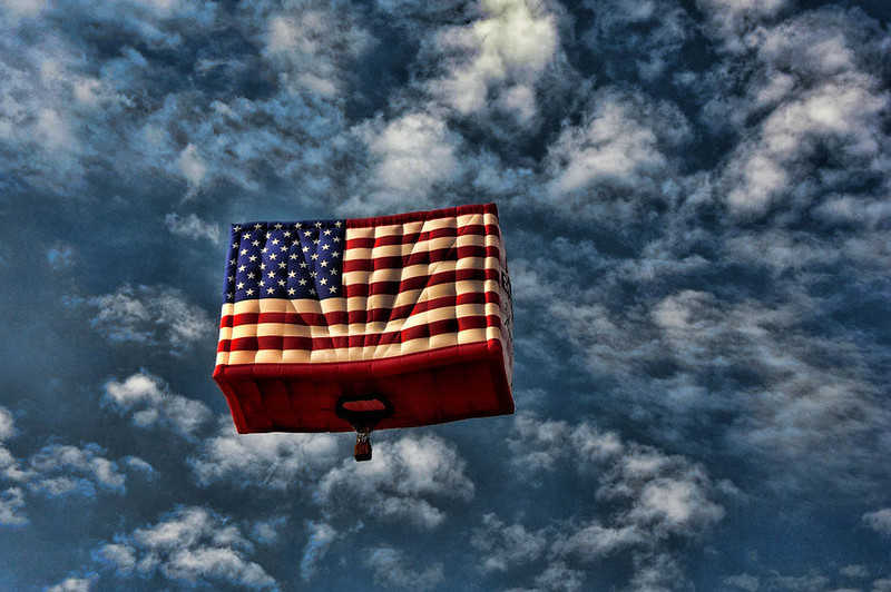 America One ~ Hot Air Balloon