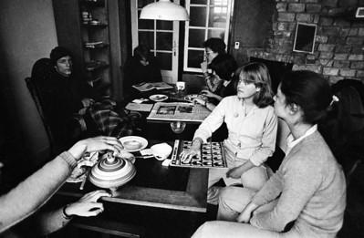Johan, Anne en Sandra.