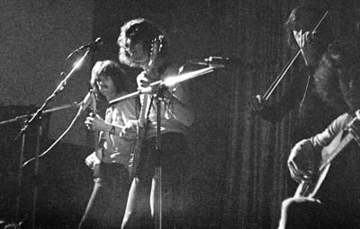 Concert tijdens het klassentoernooi van 1974.