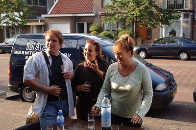 Mark, Saskia en Janet.