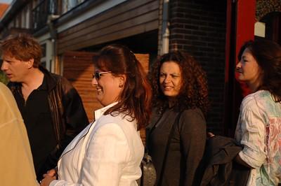 Daniel, Birre, Diana en Sandra.