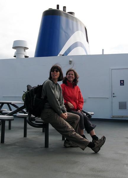 Verena und Inge - vom Winde verweht!