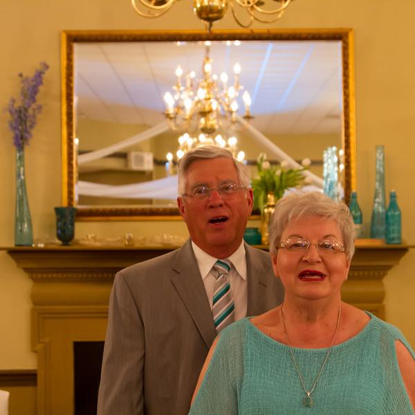 Barry and Judy Jones 50th Wedding Anniversary