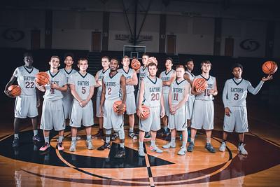 2016-2017 Lincoln North Star Boys Varsity Basketball Team