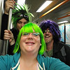 David, Jeremy, and I on BART