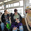 Thu, Jeremy, and David on Muni